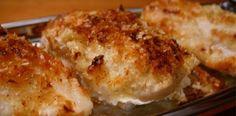 Potato Crusted Chicken Breasts