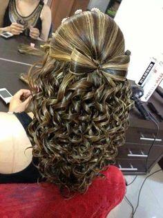 Cute hair beautiful curlys