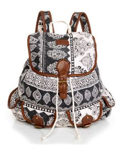 Billabong Drift Away Backpack - Paisley Print Backpack - $59.50