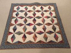 Candlelight scrap quilt made by Sharon Theriault