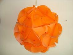 IQ lamp vintage oranje