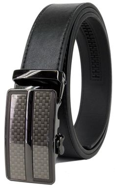 Genuine Leather Mens Replacement Belts Blue Emboss Ratchet Belts Without Buckle