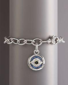 Evil Eye Eclipse Bracelet by Judith Ripka at Neiman Marcus.