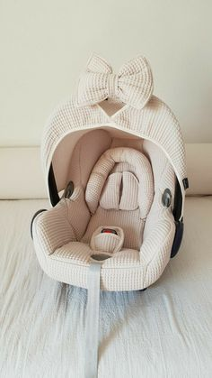 Maxi Cosi Cabrio set - pebble - Want to give your Maxi Cosi Cabrio a new twist? Wazzhappening makes this with a lot of love & passi - The Babys, Little Babies, Cute Babies, Baby Bedroom, Baby Crib Bedding, Baby Cribs, Everything Baby, Baby Needs, Baby Time