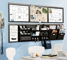 "Too much thought into organization. Sad thing is, I kinda want this ""command center"""
