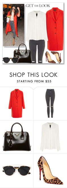 """""""Steal her style:Selena Gomez"""" by leaaaaxx ❤ liked on Polyvore featuring rag & bone, Topshop, Prada, Derek Lam, Christian Dior, Christian Louboutin, GetTheLook, selenagomez, queen and winterstyle"""