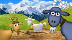 The 3 Billy Goats Gruff - KidsOut Charity Animation by Neil Whitman