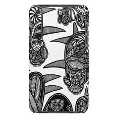A unique Gardens #3 hand drawn art iPod case iPod Case-Mate Cases
