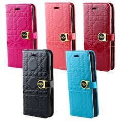 iPhone 6 4.7 My Fancy Glossy Quilted Design Wallet Cases Many Colors REPIN to get 15% off your purchase and get free shipping within the U.S Shop now : www.shoptrokm.com