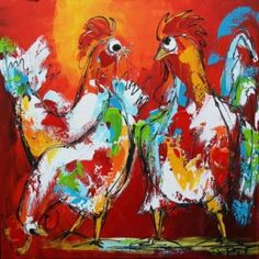 Linker bonte kippen
