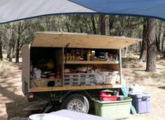 Compact Camping Trailer Glamping 21 Ideas For 2019 Jeep Camping Trailer, Canoe Camping, Best Camping Gear, Camping Style, Truck Camping, Camping Games, Camper Trailers, Family Camping, Outdoor Camping