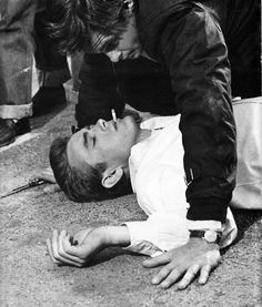 James Dean, Rebel Without a Cause.