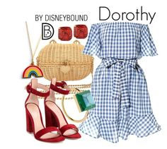 """Dorothy """"Disneybound""""- Welcome to the OFFICIAL website! DisneyBound is meant to be inspiration for you to pull together your own outfits which work for your body and wallet whether from your closet or local mall. As to Disney artwork/properties: ©Disney Disney Bound Outfits Casual, Cute Disney Outfits, Disney Themed Outfits, Disney Dresses, Disney Clothes, Princess Inspired Outfits, Disney Inspired Fashion, Princess Outfits, Disney Fashion"""