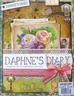 Tea With Friends - art journal inspiration