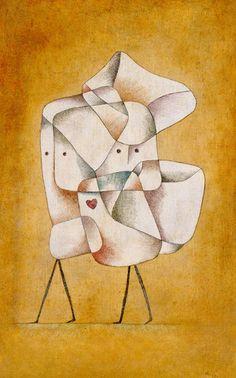 Brother and Sister, 1930 - Paul Klee Prints - Easyart.com