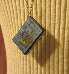 Miniature Book Necklace - Grimm's Fairy Tales