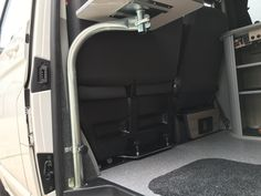 Swing Table to passenger seat vw t5 t6 with table top | EVO Design
