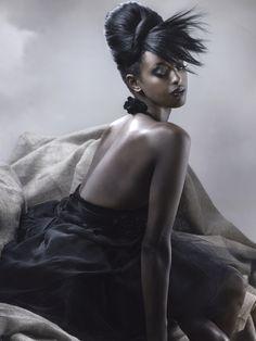 black avant garde hair - Google Search