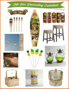 DIY Decorating Ideas For A Backyard Tiki Bar Hut