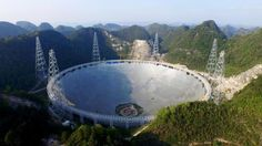 Watch This Space: Australian technology focal to the world's largest telescope - CSIROscope Cosmos, Radio Astronomy, Astronomical Observatory, China Today, Neutron Star, Alien Worlds, Watch This Space, Thing 1, Sacred Geometry