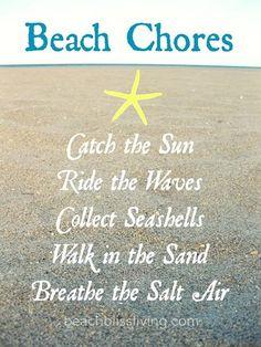 Beach Chores