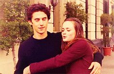 My favourite Rory and Jess moment of all time... I loved how he looked up the distance between Stars Hallow and New Haven!
