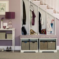 How to organise a hallway | Hallway storage ideas | Storage solutions | PHOTO GALLERY | Housetohome