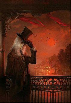Inspiration for Shades of Evenfall, dark vampire fantasy series by LD Bloodworth. Dark Fantasy Art, Dark Art, Fantasy Series, Dark Gothic, Gothic Art, Gothic Horror, Horror Art, Vampire Art, Vampire Books
