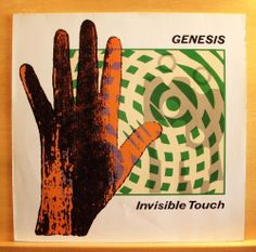 GENESIS - Invisible Touch - m - -  Vinyl LP OIS Land of Confusion - Tonight Ton.