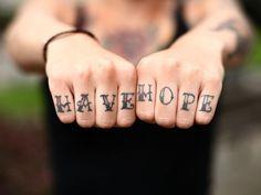knuckle tattoo font alphabet - Google Search