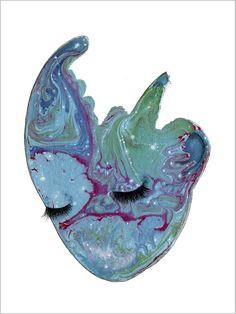 Håndmalede akvareller af Joanna Jensen. Moth, Insects, Animals, Collection, Kunst, Animales, Animaux, Animal, Animais