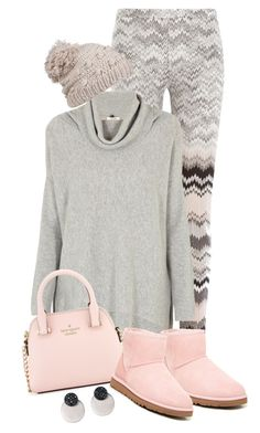 """""""Untitled #3498"""" by justjules2332 ❤ liked on Polyvore featuring Missoni, Cocoa Cashmere, Kate Spade, UGG Australia and prAna"""
