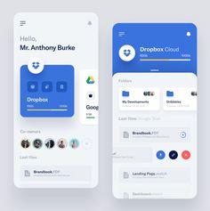 Storages Management - App by Vlad Ermakov for Widelab Ui Design Mobile, Mobile Application Design, App Widget, Ios App, Flat Web Design, App Ui Design, Design Design, Interface Web, Interface Design