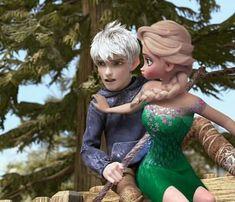 disney, jelsa, and jack frost image Frozen Love, Elsa Frozen, Disney Frozen, Disney Couples, Disney Fun, Cute Couples, Jake Frost, Jack Frost And Elsa, Jelsa