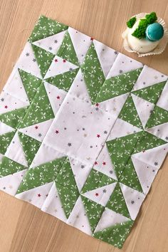 Star Quilt Blocks, Star Quilts, Mini Quilts, Half Square Triangle Quilts Pattern, Quilt Square Patterns, Christmas Quilting Projects, Bird Quilt, Colorful Quilts, Traditional Quilts