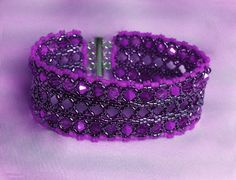 Lelya Bracelet Pattern - Beaded Bracelet - Free Pattern from Beads Magic