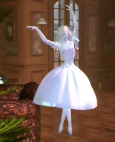 The Sugar Plum Princess Christmas Ornament from Barbie in the Nutcracker