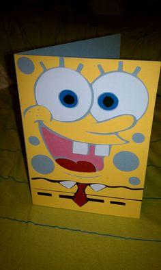 Sponge Bob Card