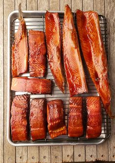 How to Smoke Salmon - Smoked Salmon Recipe Hank Shaw smoker recipes for salmon - Smoker Cooking Best Smoked Salmon, Smoked Salmon Recipes, Trout Recipes, Smoked Fish, Seafood Recipes, Traeger Smoked Salmon, Smoked Salmon Jerky Recipe, Recipes Dinner, Smoked Oysters