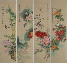 Peony Painting, Floral Paintings, Cool Paintings, Original Paintings, Chinese Brush, Chinese Art, Peony Flower, Flowers, Buy Peonies