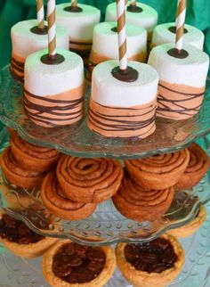 Thanksgiving party treats!  See more party planning ideas at CatchMyParty.com!