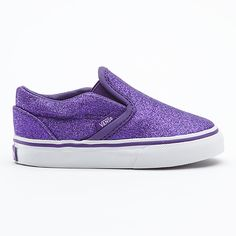 Glitter Slip-On, Toddlers-know your kid is wearing comfortable shoes