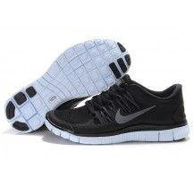 big sale 172ed c8d90 Nike Free Run Womens Mens Black Silver,Discount shoes,cheap sneakers