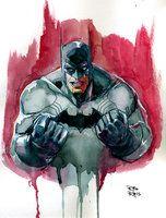 Bleeding Batman by RodReis