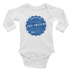 Toy Tester Infant Long Sleeve Bodysuit