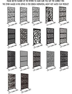 Patio Privacy Screen, Privacy Screen Outdoor, Privacy Screens, Backyard Patio, Backyard Landscaping, Geometric Patterns, Hanging Room Dividers, Decorative Panels, Outdoor Decorative Screens