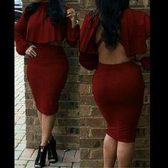 It Girl ❤ Show stopping 2 piece skirt set ? Skirts Skirt Sets