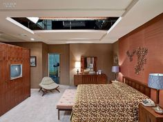 Don Draper's Bedroom: Behind-the-scenes photos reveal the secrets of Mad Men sets