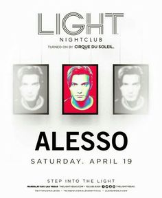 ALESSO Saturday April 19th at LIGHT Las Vegas Nightclub. 702.741.CITY(2489) CITY VIP CONCIERGE for Cabanas, Daybeds, Bungalows, Tickets and the Best of Any & Everything Fabulous in Las Vegas!!! #LIGHTLasVegas #VegasNightclubs #CityVIPConcierge CALL OR CLICK TO BOOK www.CityVIPConcierge.com