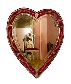 Heartshaped mirror